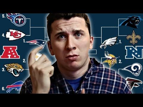 nice #CAN I PREDICT THE 2018 NFL PLAYOFFS! -VIDEO