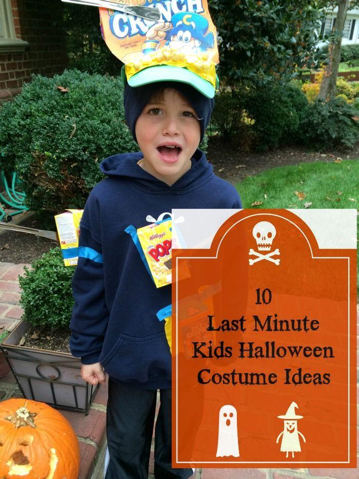 last minute diy kids halloween costumes kid last minute. Black Bedroom Furniture Sets. Home Design Ideas