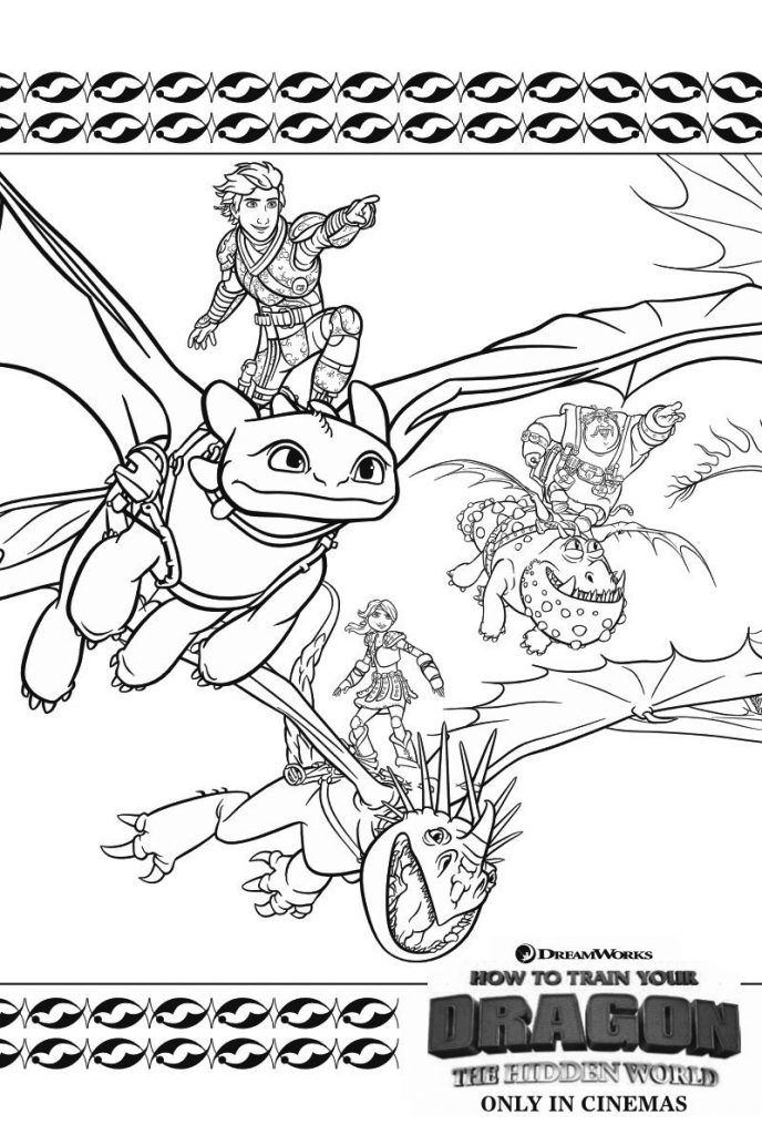 How To Train Your Dragon Coloring Pages - Best Coloring Pages For Kids How  Train Your Dragon, How To Train Dragon, How To Train Your Dragon