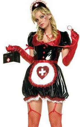 Sexy 5Pc Puffy The Nurse Halloween Costume Leg Avenue  | Sexy Costumes  | Shop Halloween Costumes  | World of Adult Costumes  |  http://www.worldofadultcostumes.com/  |  #halloween  #party  #sexy  #costumes #halloweencostumes #girlcostumes #sexycostumes #adult_costumes #parties #Holiday_parties #naughty_nurse #nurse