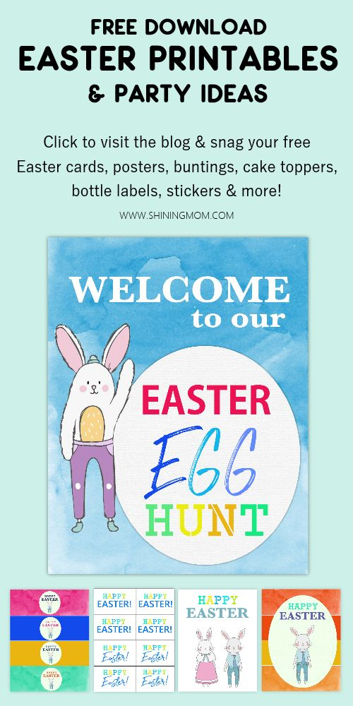 You'll LOVE our Free Easter printables for your upcoming Easter celebration!…   – Spring / Easter Printables