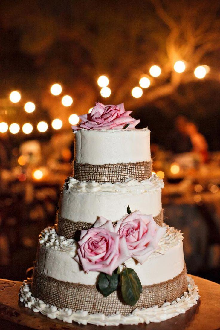 pinterest/ | DIY Wedding Cakes | Pinterest | Rose Cake, Roses and