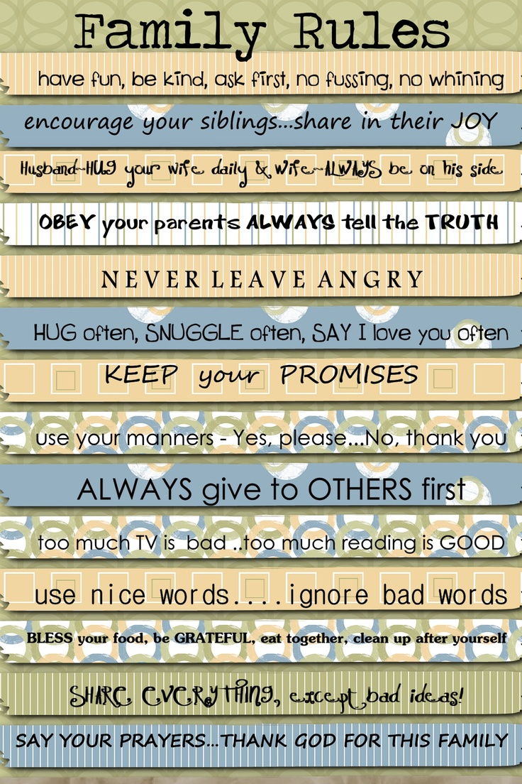 our family rulesDecor, Parents, Inspiration, Quotes, House Ideas, House Rules, Mommy Stuff, Family Rules, Families Rules