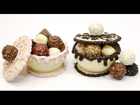 How To Make FERRERO ROCHER Bowls CHOCOLATE HACKS by Cakes Step by Step - YouTube
