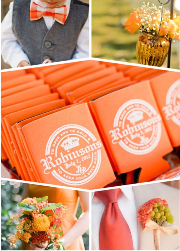 Invitations For The Best Fall Wedding Color Themes