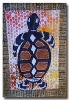 Thema Australië voor kleuters met veel voorbeelden van Aborigonal tekenen