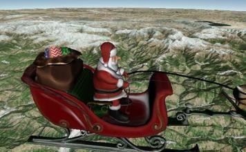 Santa Tracker: El recorrido de Papá Noel hasta Vicente López