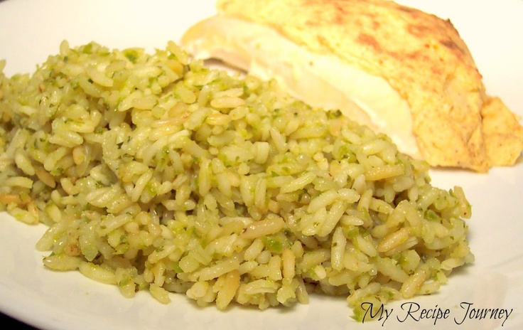 Mexican Green Rice | the mexican diet | Pinterest