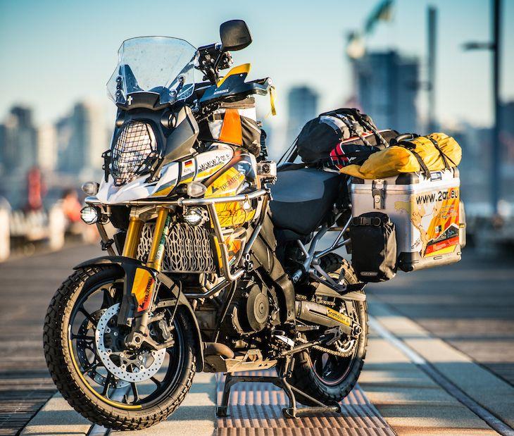 Bike Build: Suzuki V-Strom 1000 - Touratech-USA Okay, mmmaybe I like it! Makes my 05 look...tired.