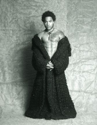 Rock royalty ---> Lenny Kravitz by Dana Frank