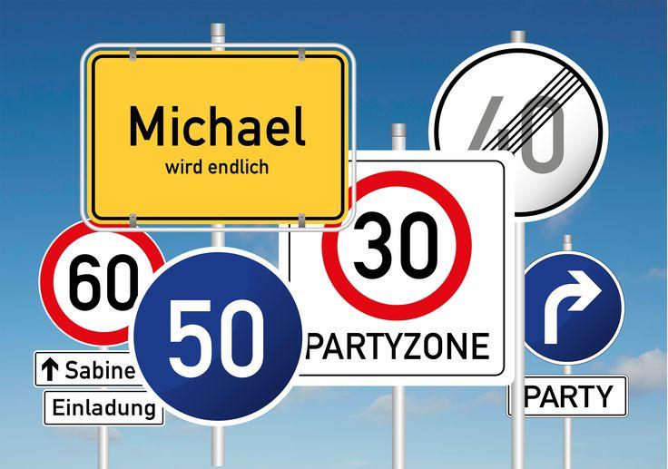 Blogartikel: Geburtstag mit Verkehrsschild ist seit Jahren ein Klassiker unter den Themen zur Geburtstagsparty. Lesen Sie hier: http://blog.einladunggeburtstag.de/portfolio/geburtstag-mit-verkehrsschild/