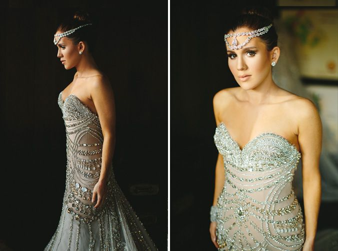 J39aton couture amber ridinger duane mclaughlins for Puerto rican wedding dress