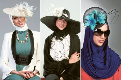 Hijab Style with Hats