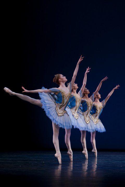 textbooksandtendus:    Het Nationale Ballet  Theme & Variations  Photo by Angela Sterling