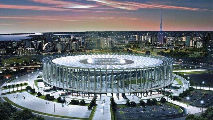 Estadio Nacional de Brasilia Stadium World Cup 2014 (World Cup 2014 Stadium)
