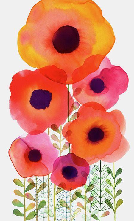 Margaret Berg : florals