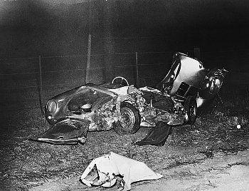 James Dean , l'accident .