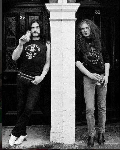 Lemmy Kilmister and Fast Eddie Clarke - Motorhead