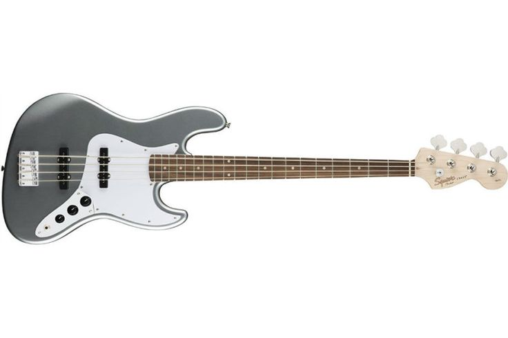 """Squier by Fender Affinity Jazz Beginner Electric Bass Guitar Review  The Fender Squier: A Slick Silver Electric Bass If I was to ask you what is the best instrument in a band, what would your answer be? For most people, they are likely to lean towards the guitar, the drums, or mainly the singer. The singer is usually the """"front"""" person in the band, and resembles the leader for most people. What if I was to tell you that an instrument that often goes overlooked, is such an"""