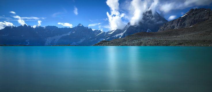 Lago delle Cime Bianche. Italia. -