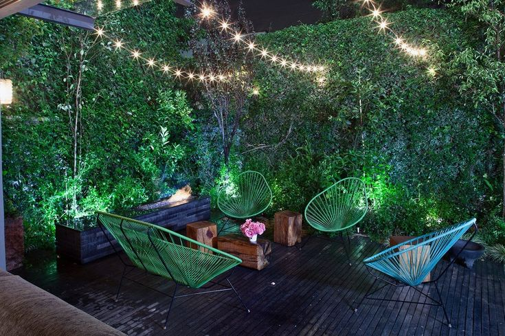 100 лучших идей: освещение сада и частного двора на фото