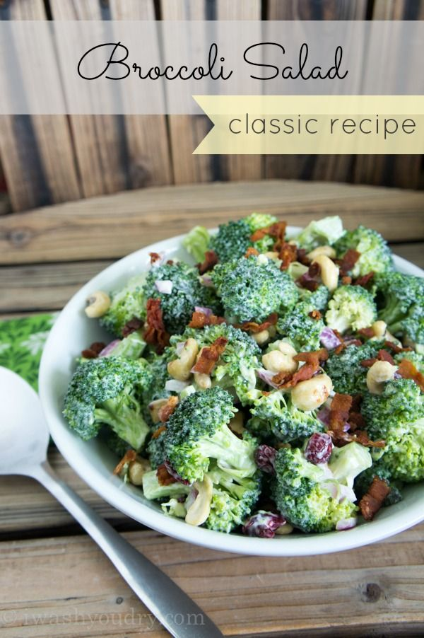tiffany co mens necklace The best Classic Broccoli Salad Recipe out there