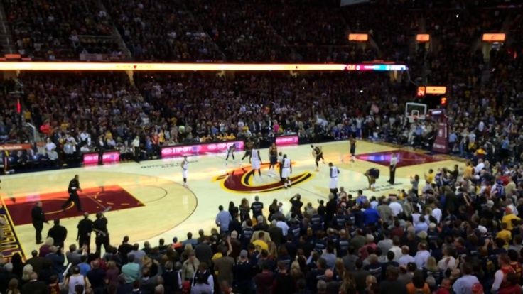 Cavs Player Intros 10-30-14