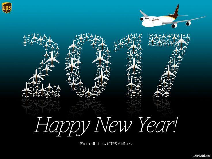 UPS Happy New Year 2017