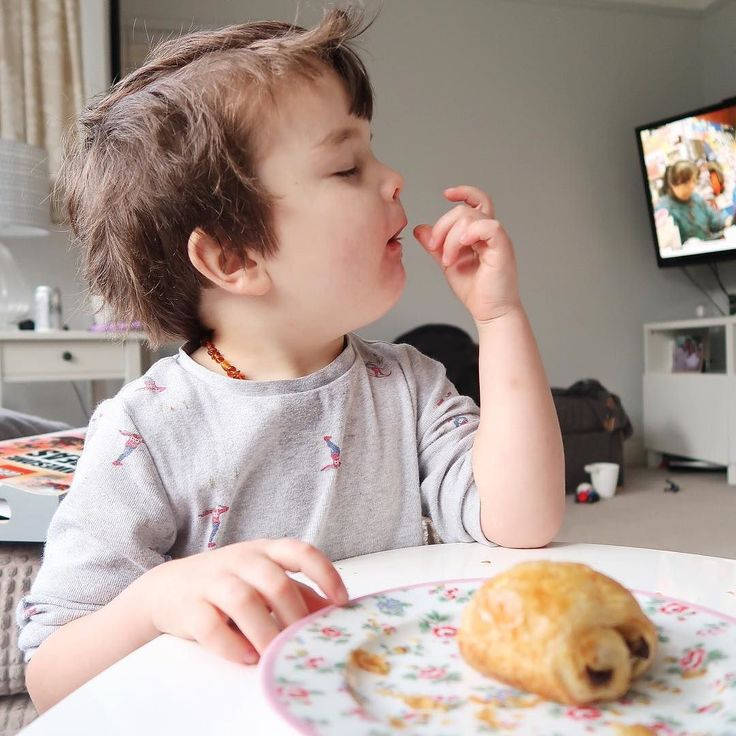 We are pretty much doubles. This kid has the exact same reaction to eating a pain au chocolat as I do. Is there anything better on Saturday morning? FYI the @waitrose frozen ones are pretty darn good. I get the mini ones as they are easier to eat for little people cook from frozen - bish bosh bash.