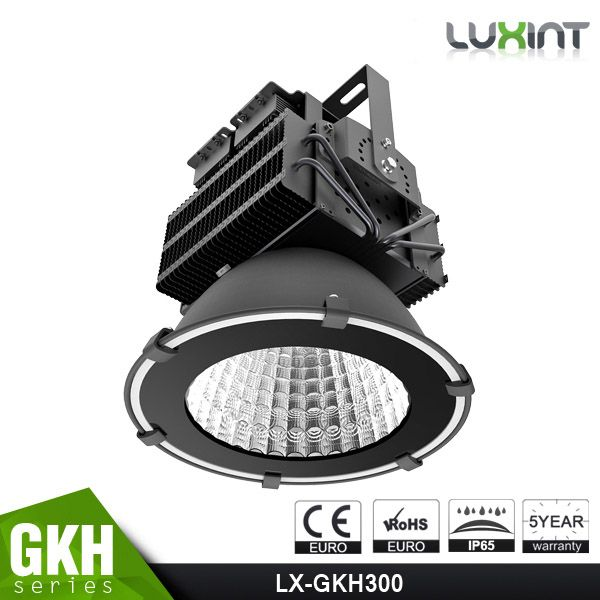 CE ROHS Approved, Sports Lights, Copper Heat Pipe Design, Meanwell Driver, 5 Years Warranty, 300W LED High Bay