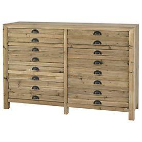 General Store 2-drawer 2-door Cabinet
