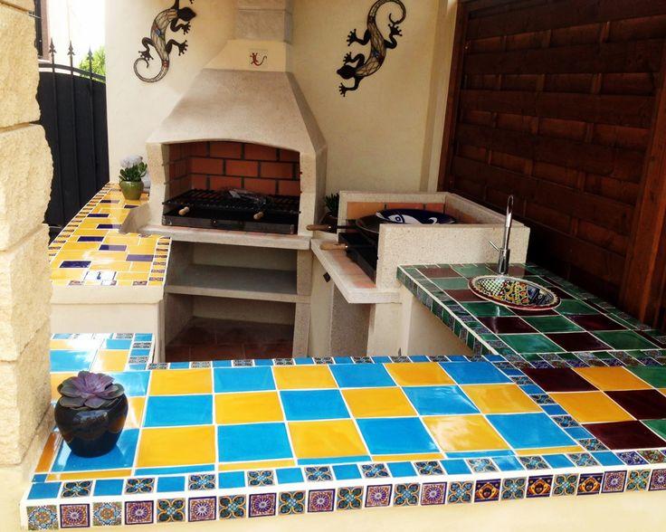 22 best Bunte Mexikanische Fliesen für die Küche images on - wandfliesen für küche