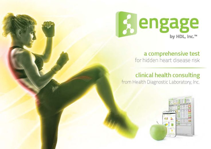 Consumer Sales Brochure Cover For A Health Test LaboratoryDesign