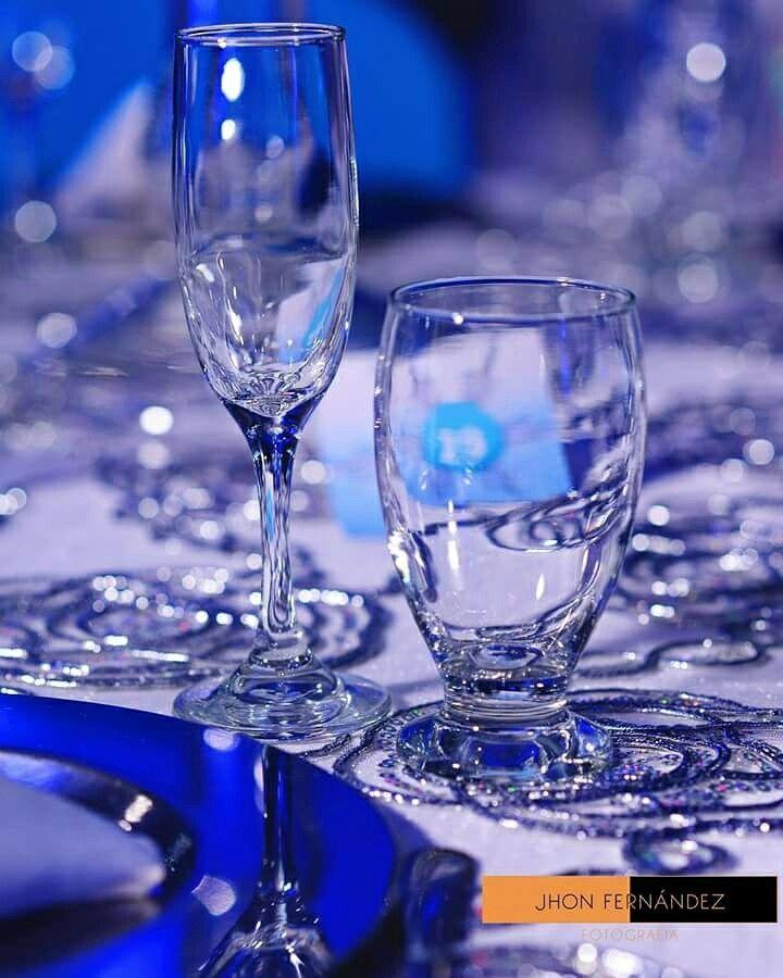 Cristalería y detalles de lujo