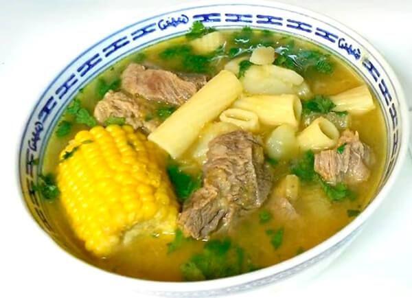Receta De Sopa De Carne De Res Con Verduras La Mejor Receta