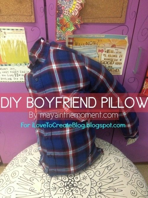 Community post make your own diy boyfriend pillow maya for Make your own christmas gift baskets