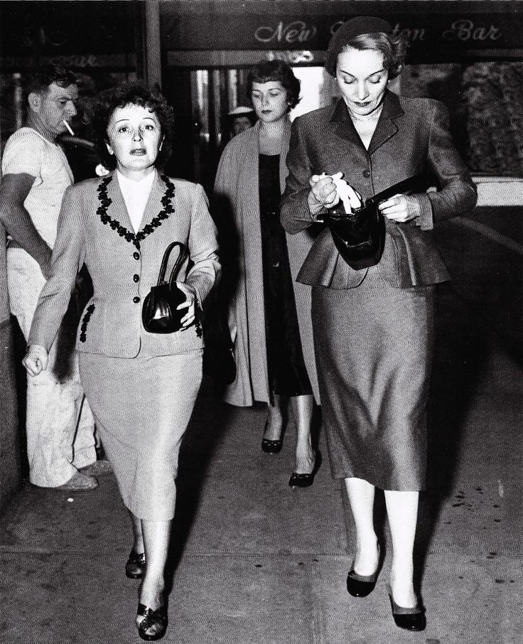 Edith Piaf & Marlene Dietrich