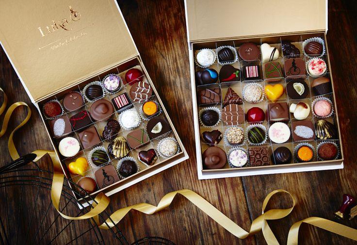 Customized choice of chocolates Make a long lasting sweet impression!