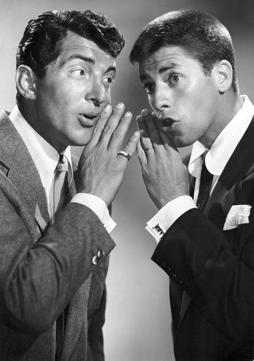 Dean Martin and Jerry Lewis, real talent:)