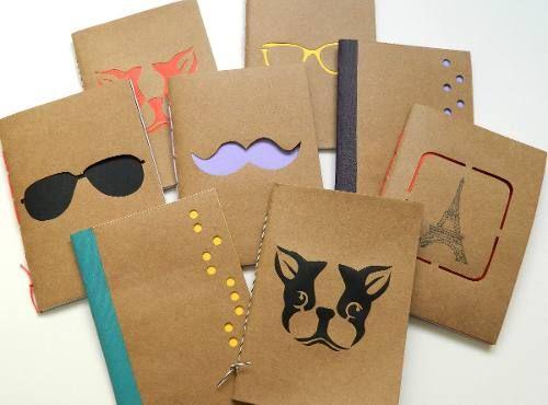 libreta artesanales papel kraft - Buscar con Google