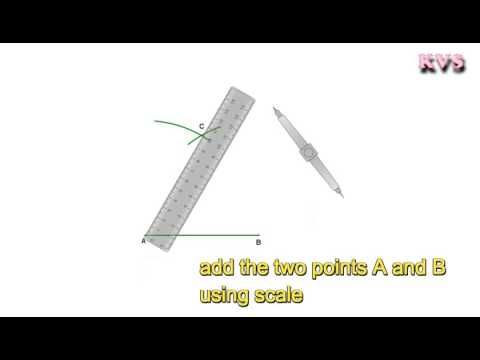 How To Draw 60 Degrees Angle Without Using Protractor Em