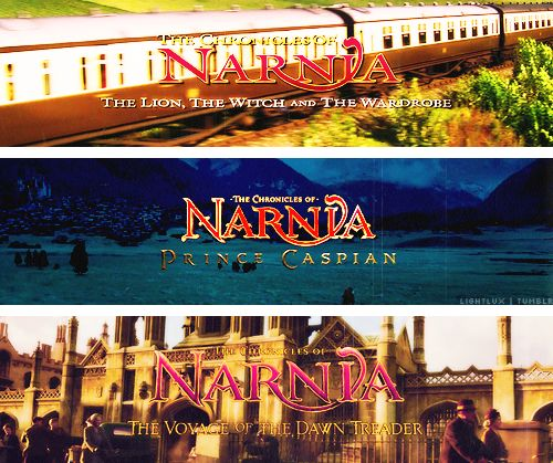The Chronicles Of Narnia The Lion The Witch And The Wardrobe, Prince Caspian, And The Voyage Of The Dawn Treader