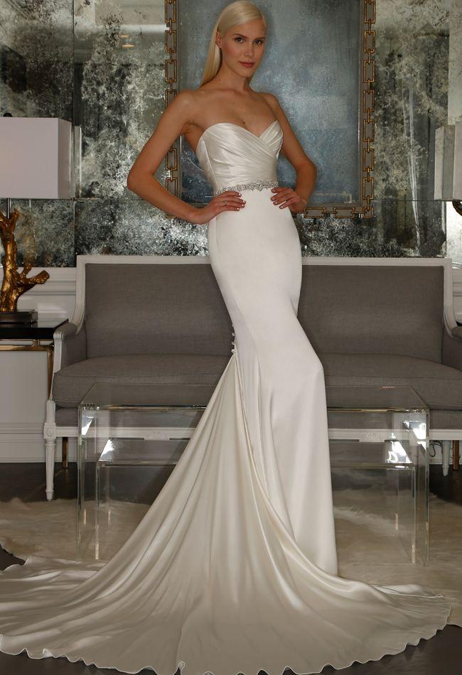 Romona Keveza Wedding Dresses Fall 2015: Bridal Fashion Week Photos!