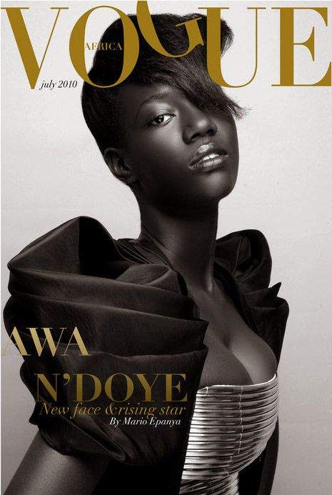 vogue africa (one day)  /  Mario Epanya