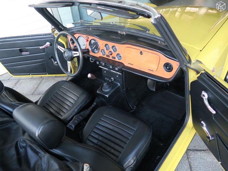 Triumph tr6 cabriolet collection carburateur 106cv Voitures Bas-Rhin - leboncoin.fr