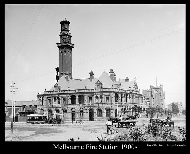 Melbourne Fire Station 1900s | Flickr - Photo Sharing!