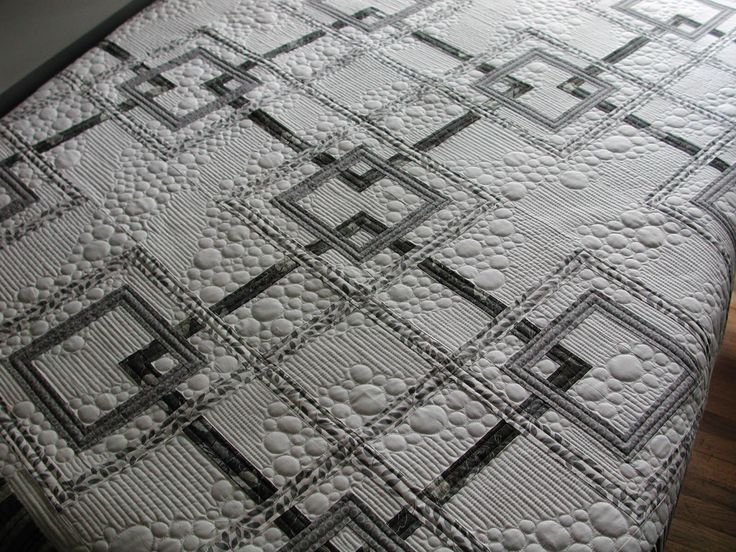 love the bubbles A fabulous quilt from http://www.murdockmanor.blogspot.in – inspiration for the fmq