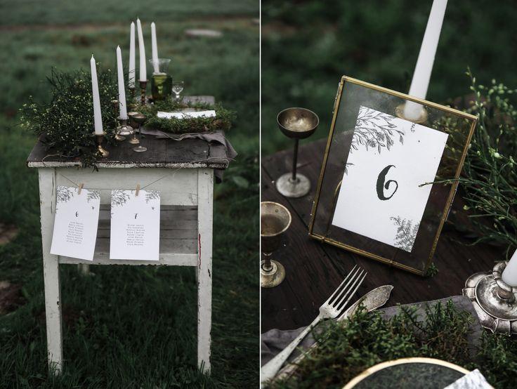Botanical wedding stationery by Love Prints, Botaniczna papeteria ślubna