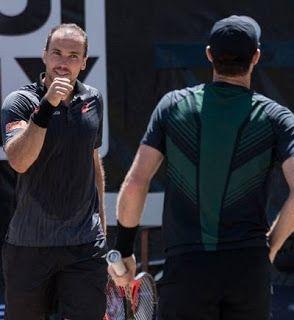 Blog Esportivo do Suíço:  Chuva interrompe semifinal de duplas de Soares em Queen's
