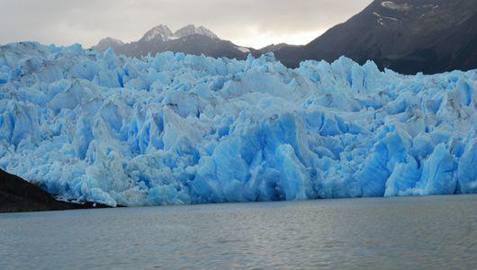 Un glaciar de Patagonia/tierra del fuego -Joe Cardone